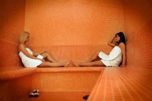 Két Korona Hotel szaunája